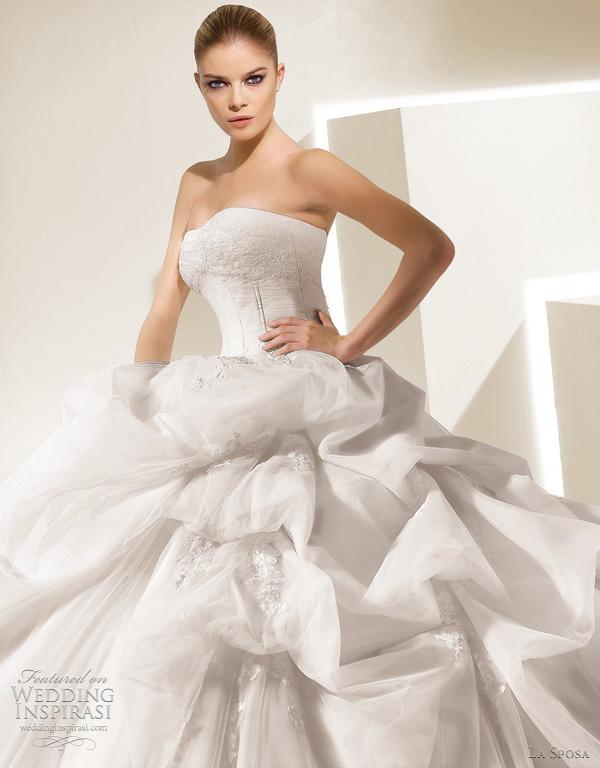 la sposa salamanca wedding dress - ballgown collection