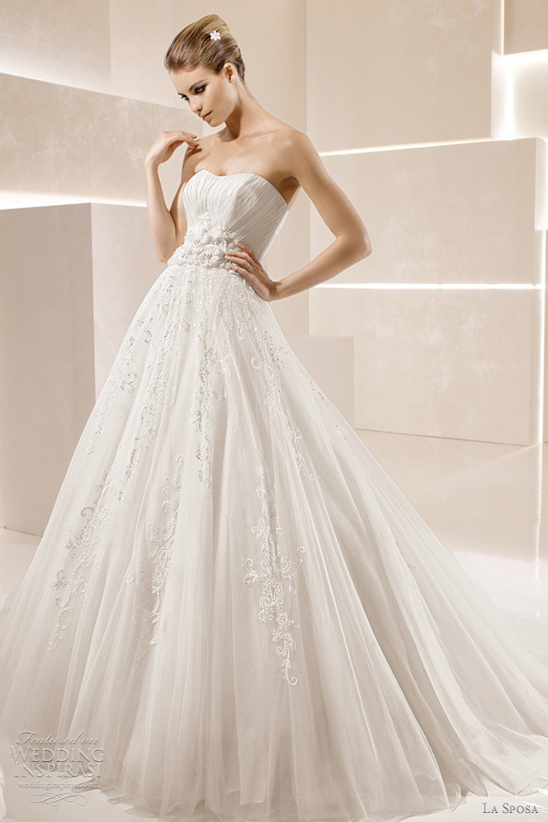 la sposa sandalo wedding dress 2012 rania