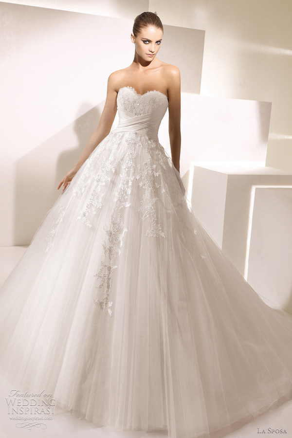 La sposa wedding dresses 2012 glamour bridal collection for La sposa wedding dresses
