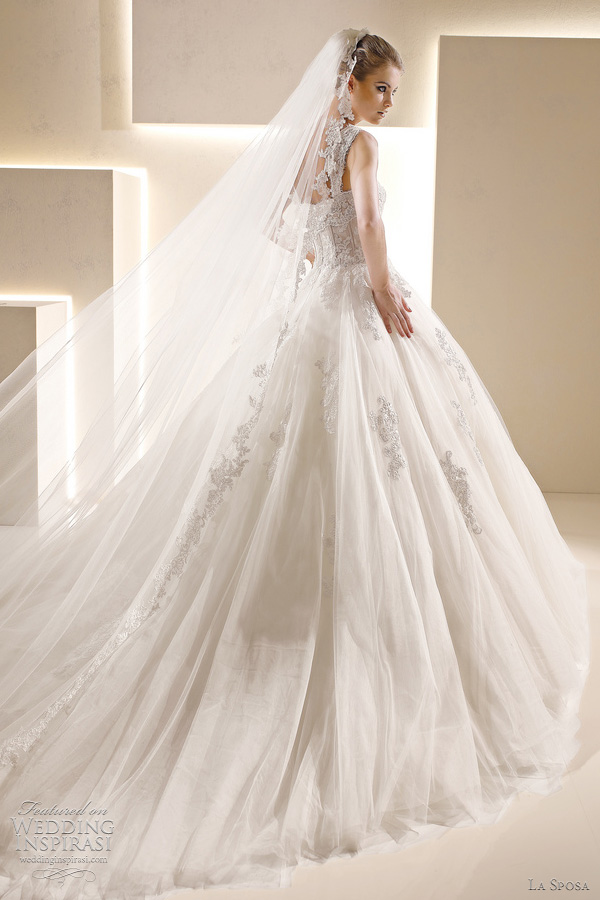 la sposa selva wedding dress 2012