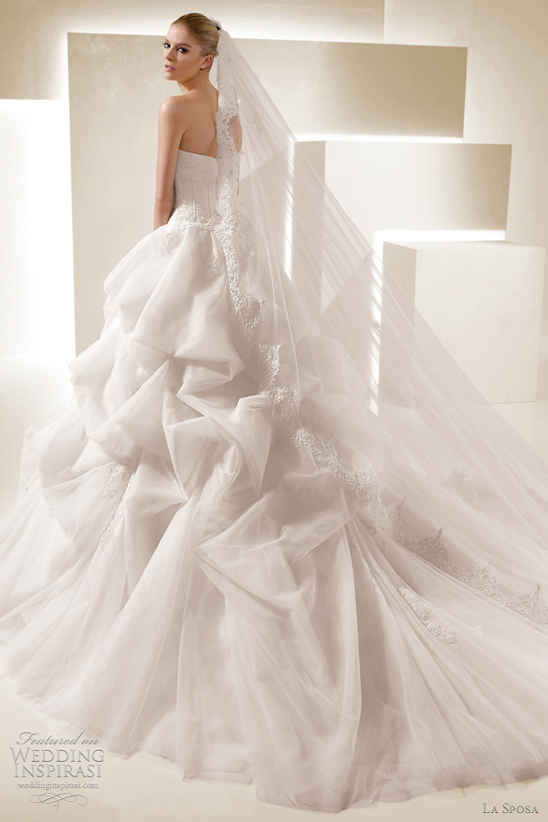 La sposa 2012 wedding dresses ballgown bridal collection for La sposa wedding dress