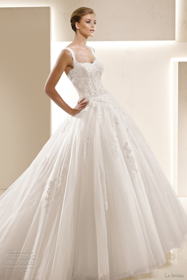 La Sposa Wedding Dresses 2012 — Glamour Bridal Collection ...