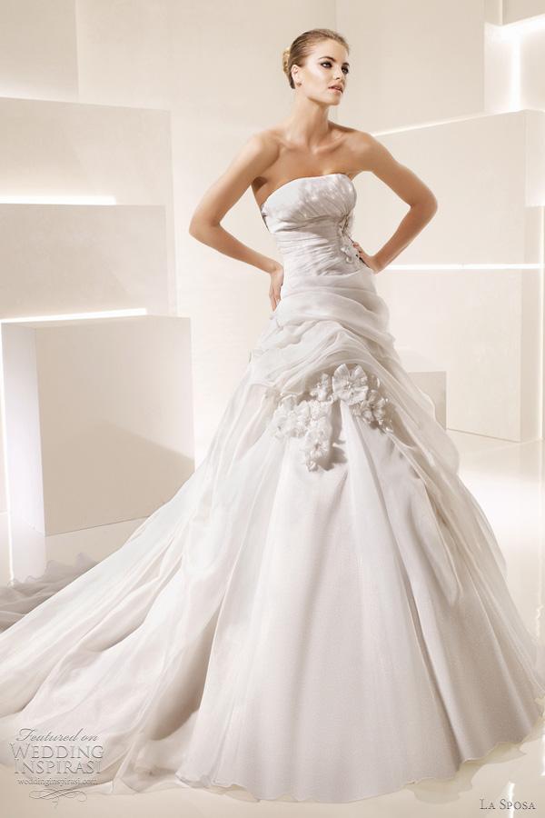 la sposa wedding gowns 2012 salinas