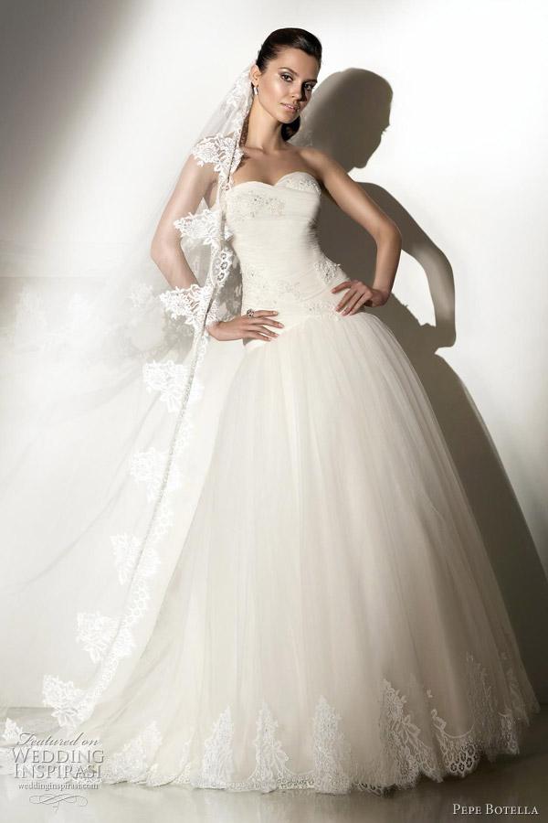 Gothic Style Wedding Dresses 82 Trend pepe botella novias Pepe