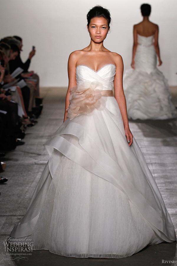 rivini wedding dresses 2012 freya