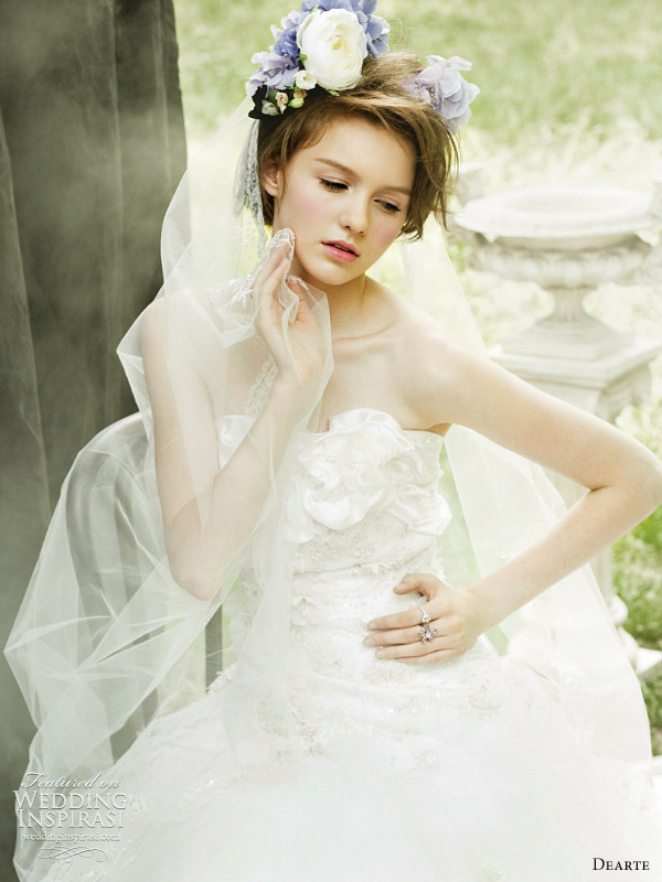 romantic wedding dresses dearte
