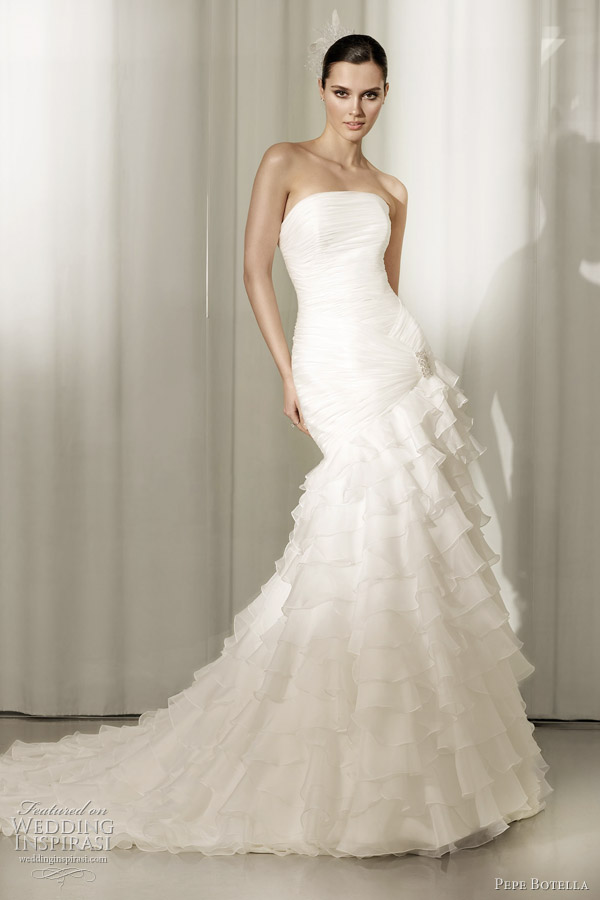 pepe botella 2012 wedding dresses wedding inspirasi With spanish wedding dresses