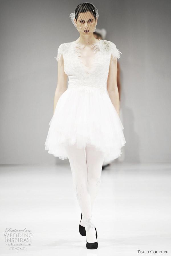 Ballerina Wedding Dresses 81 Popular trash couture ballet inspired