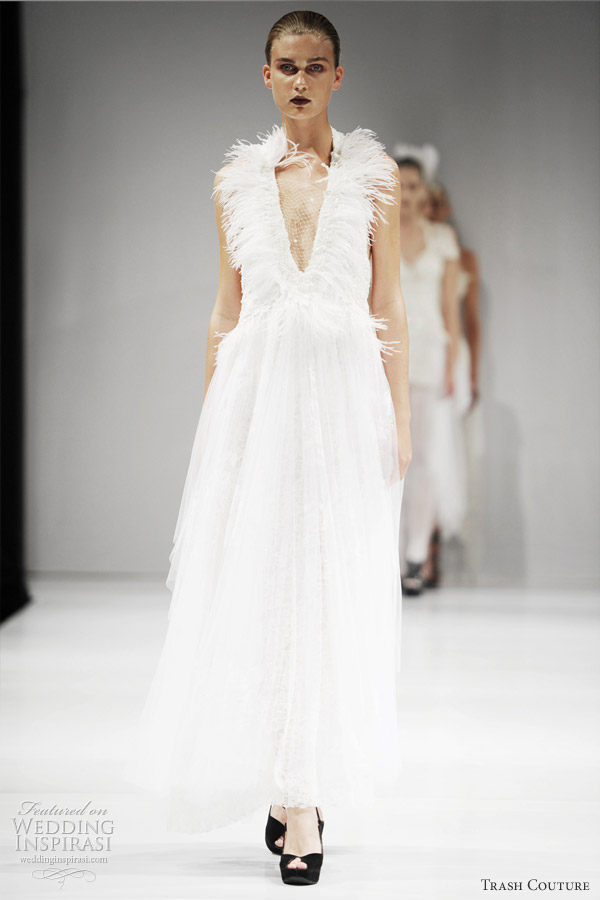 Couture Wedding Dress 55 Cute trash couture wedding dresses