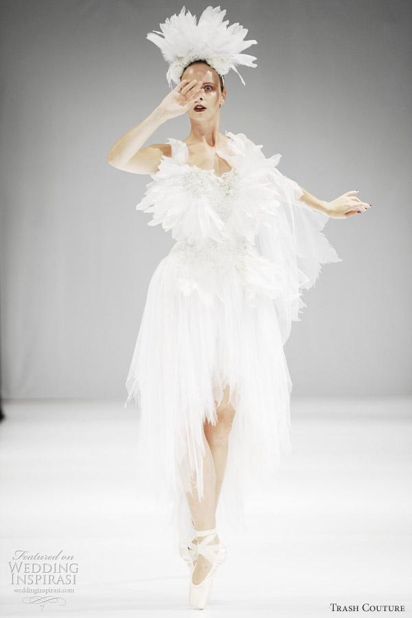 Trash Couture Wedding Dresses Spring 2012 Black Swan