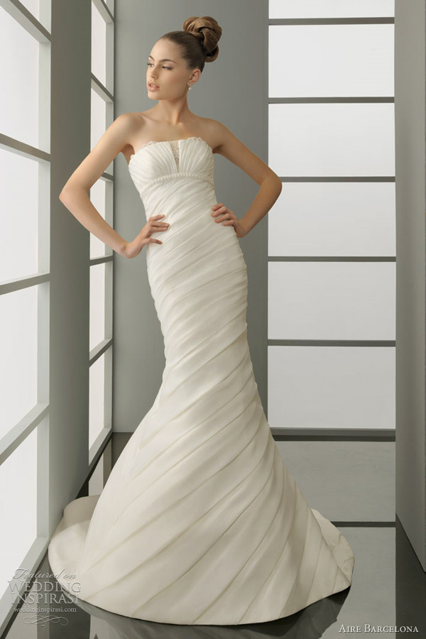 2012 aire barcelona wedding dresses pelayo