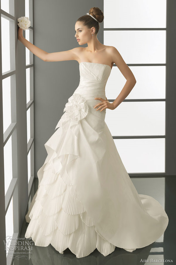 aire barcelona 2012 bridal collection puma