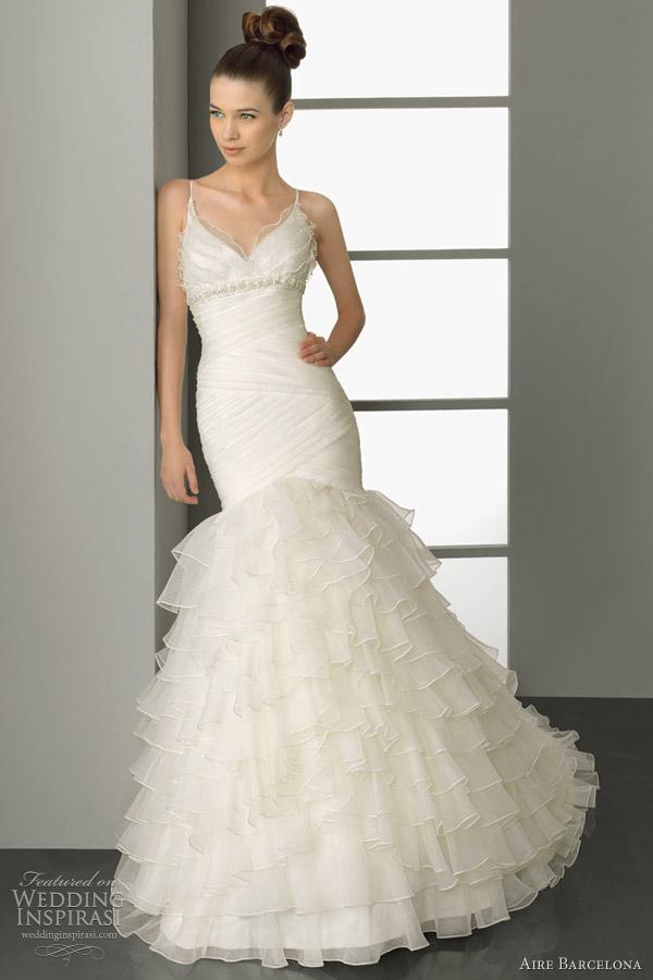 aire barcelona 2012 bridal plata