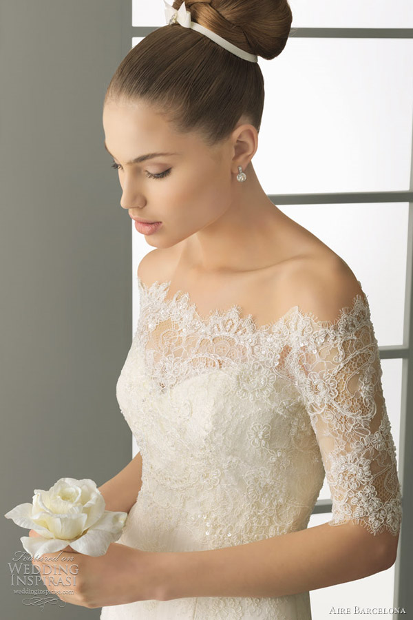 aire barcelona wedding bolero ideas