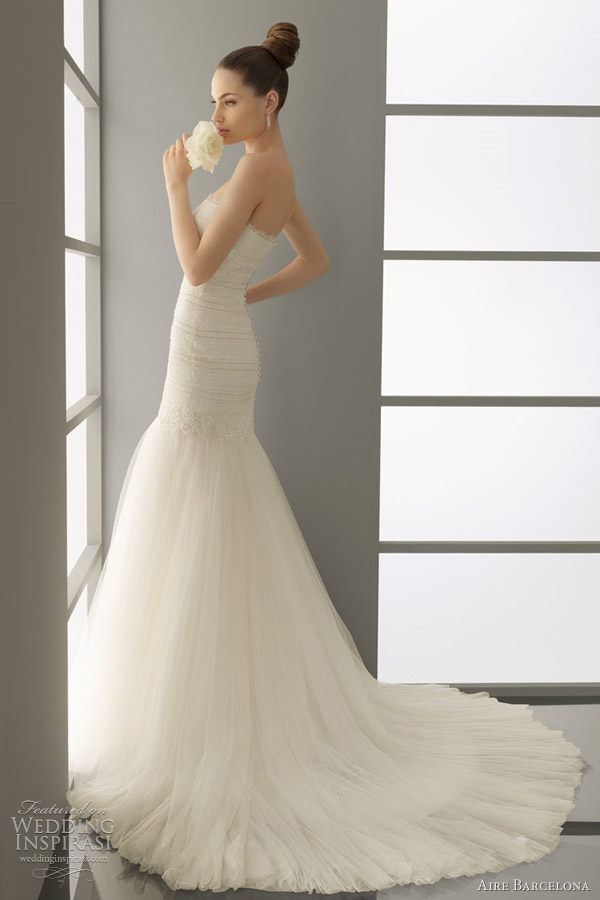 aire barcelona wedding dresses 2012 parma