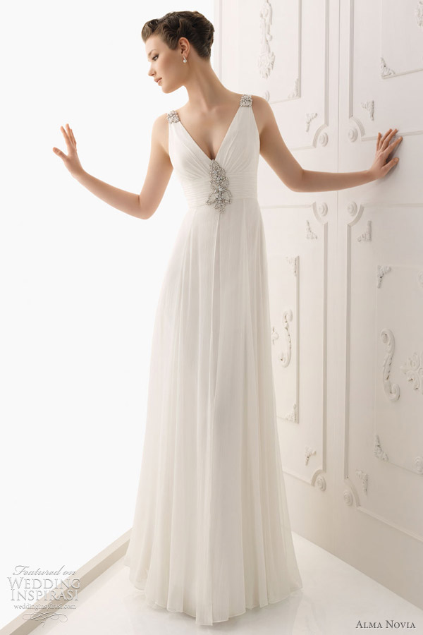 alma novia 2012 wedding dresses - Saloman