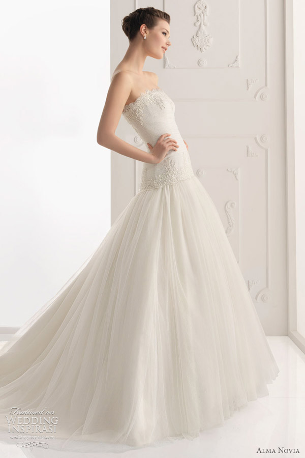 alma novia 2012 - Sabina wedding dress