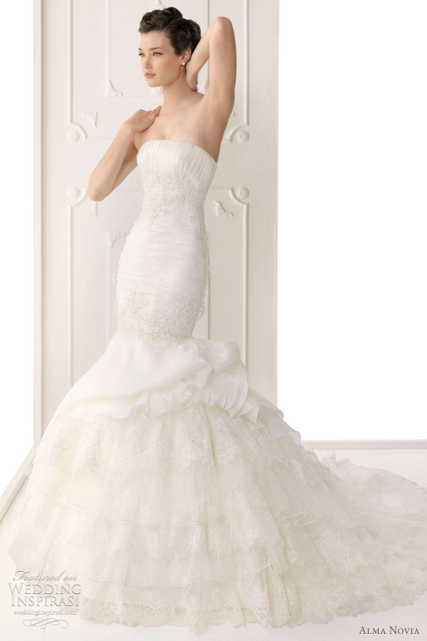 alma novia wedding dress 2012 - siria bridal gown