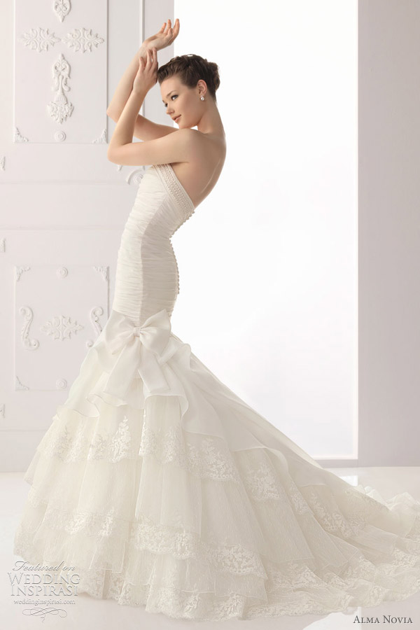 alma novia wedding dresses 2012 - Sabia bridal gown