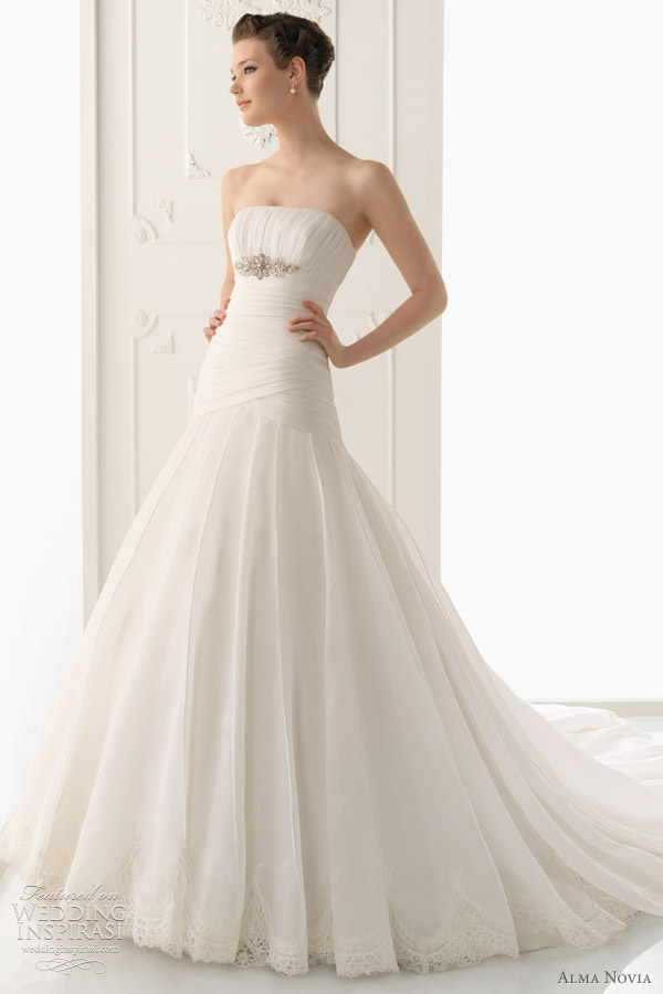 alma novia wedding dresses 2012 wedding inspirasi