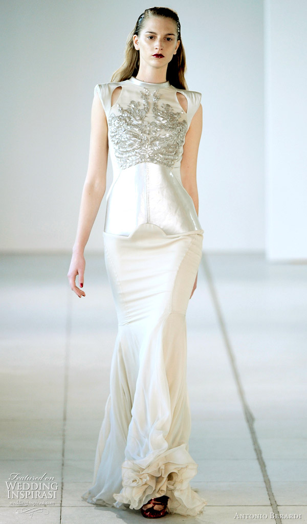 Antonio Berardi Spring 2012 Ready To Wear Wedding Inspirasi