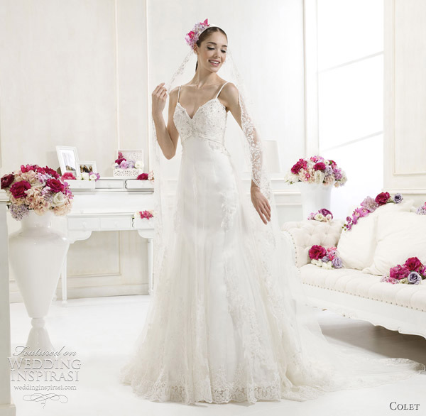 colet 2012 italian wedding dresses