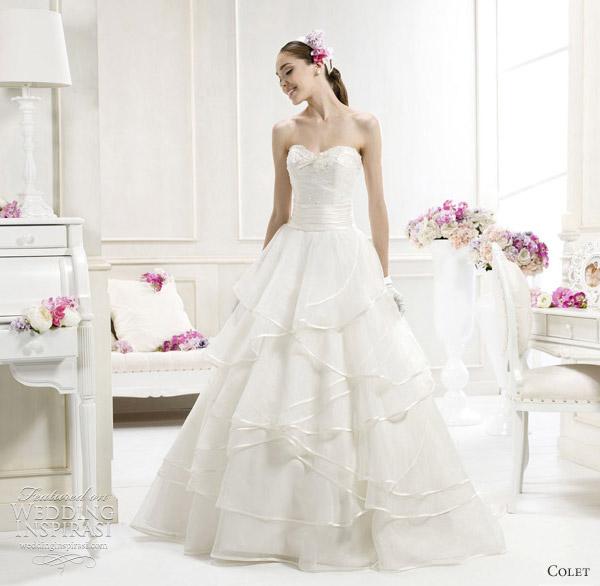 colet bride nicole spose 2012