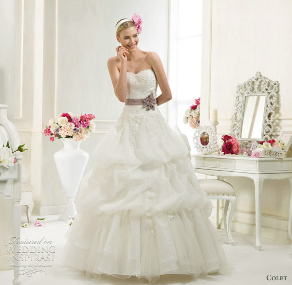 colet wedding dresses 2012