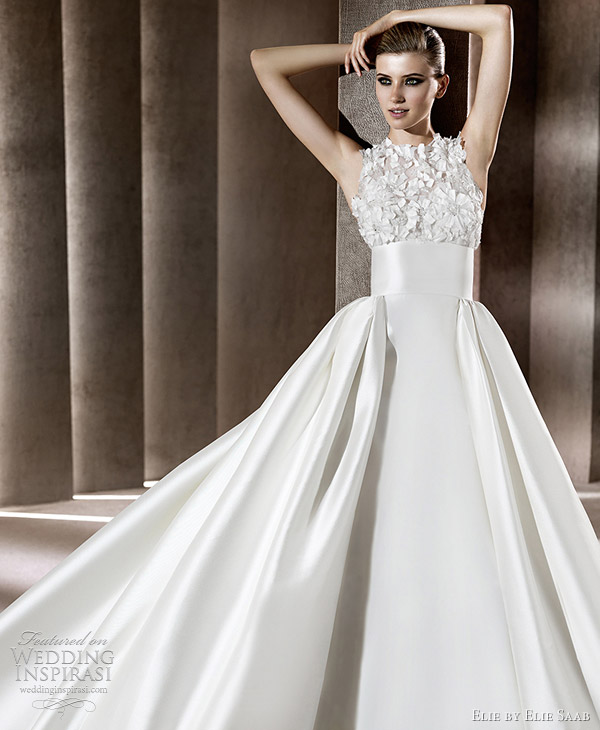 elie by elie saab wedding dresses - BELISAMA bridal gown from the 2012 collection