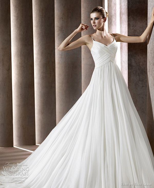 elie saab bridal 2012 collection pronovias - satis wedding dress