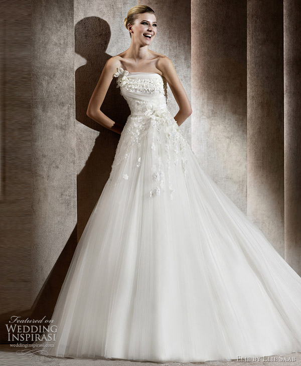 elie saab bridal 2012 - aricia wedding dress