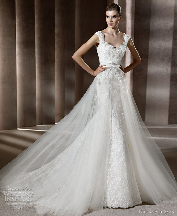 elie saab wedding dresses 2012 - ardelia bridal gown