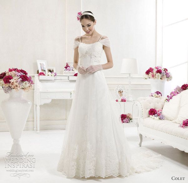 empire wedding dresses 2012