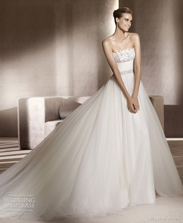manuel mota bridal 2012 collection edesa