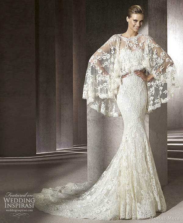 manuel mota for pronovias 2012 erika