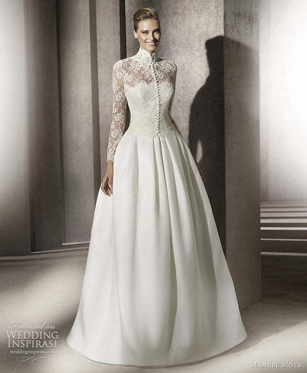 manuel mota for pronovias 2012 esencia