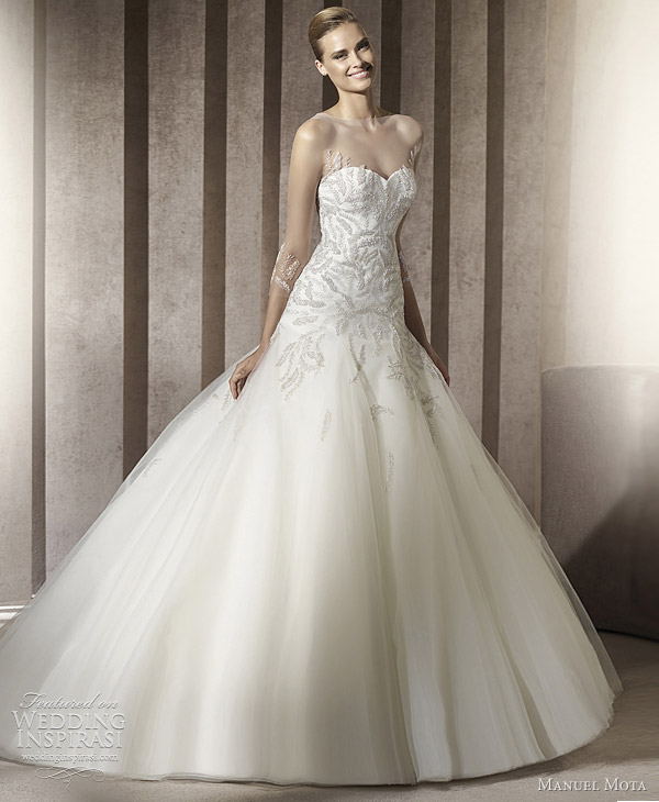 manuel mota wedding dresses 2012 elena