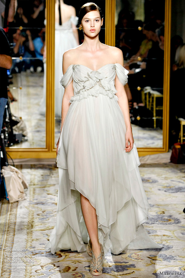 marchesa goddess wedding dresses