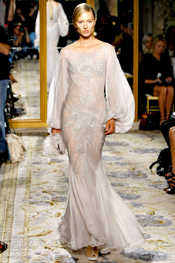 marchesa spring 2012 bridal gown