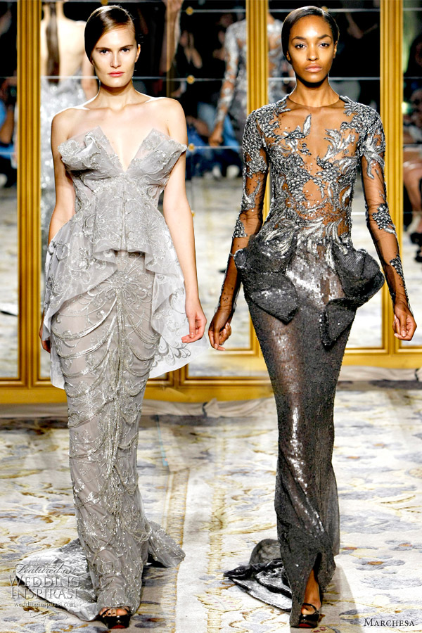 marchesa spring 2012 dresses