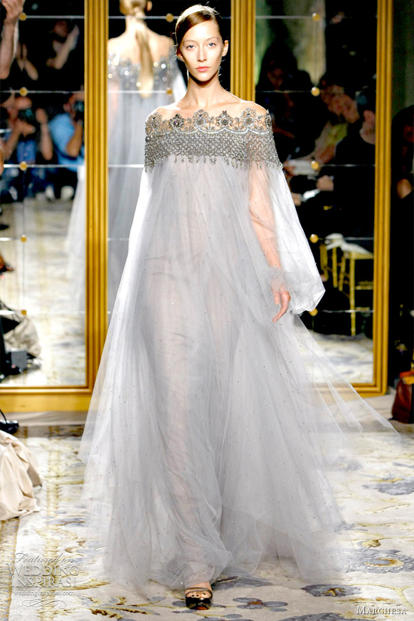 Marchesa spring 2012 ready to wear wedding inspirasi for Marchesa wedding dresses prices