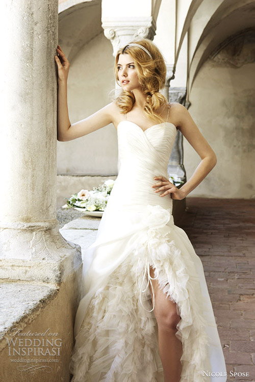 nicole sposa 2012 wedding dress maurica