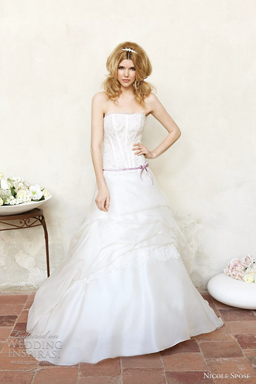nicole spose 2012 milena wedding dress