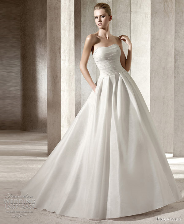pronovias wedding dress 2012 jilguero