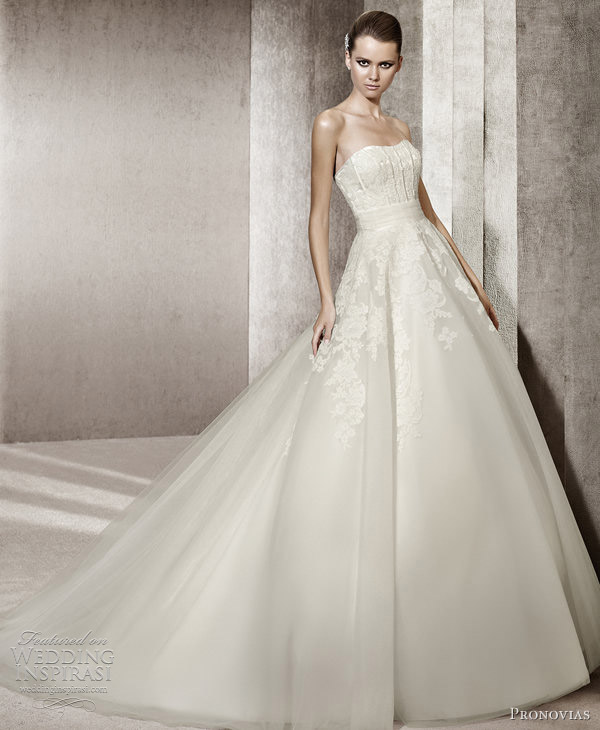 pronovias wedding dresses 2012 you bridal collection