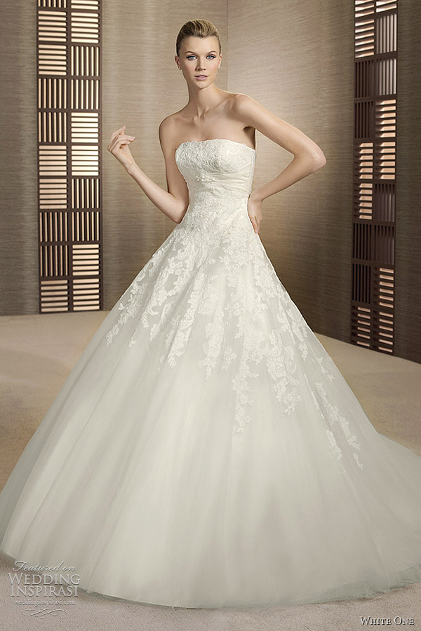 White One 2017 Wedding Dress Oslo Bridal Gown