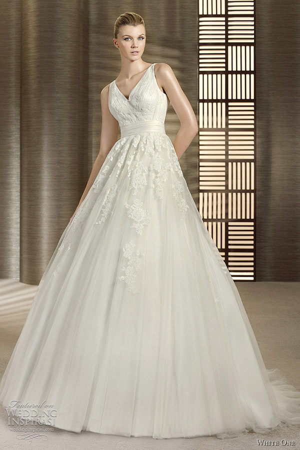 white one olimpia wedding dress 2012 olimpia