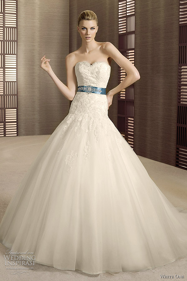 White Wedding Dresses For  : White one wedding dresses bridal collection ozono