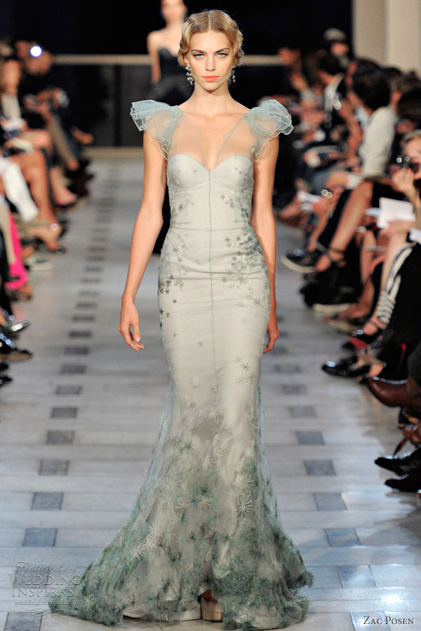 Zac Posen Spring 2012 Ready To Wear Wedding Inspirasi