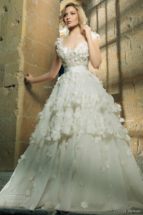 zuhair murad wedding dresses 2011 2012